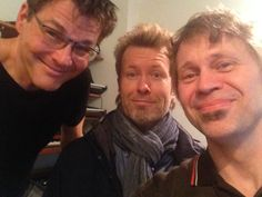 Morten, Magne and Peter Kvint, 2015