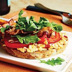 Open-Faced Pimiento Cheese BLTs | MyRecipes.com at http://tastyshare.com/index.php/posts/149251-Open-Faced-Pimiento-Cheese-BLTs-MyRecipescom