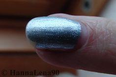 HannaLena90: NOTD - silberblau & eiskalt