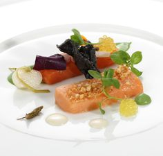 First course. Stefan Lenz, head chef at the Austrian Relais & Châteaux Hotel Tennerhof in Kitzbühel.  http://www.four-magazine.com/articles/1984/chef-of-the-year