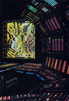 Hi-tech 80s art