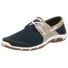 Nautica Men's Tack Boat Shoe How cool are these water shoes!?