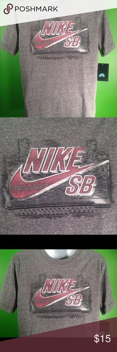 Nike SF Bay T shirt.. Nike SF Bay Tshirt ash gray and red! Shirts Tees - Short Sleeve