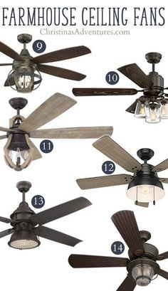 Marvelous Unique farmhouse ceiling fans – these will add to your home decor and not detract from it! The post Unique farmhouse ceiling fans – these will add to your home decor and not detract from it!… appeared first on Home Decor .