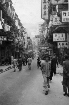 View Map, Vintage Photographs, Hong Kong, Public, Street View, Mansions, History, City, Pictures