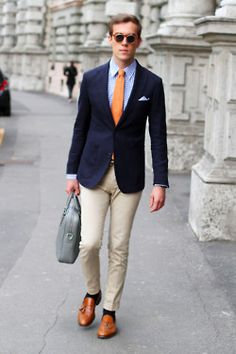Nice orange tie...Ryan's fav color