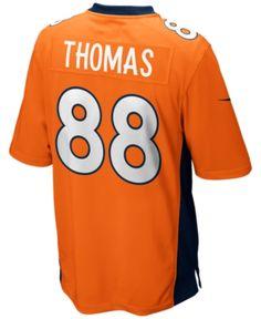 Nike Men s Demaryius Thomas Denver Broncos Game Jersey - Orange XL Denver  Broncos Players 3eabe4efa