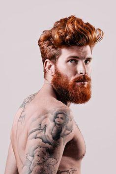 Majestic beards.