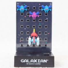 RARE! Namco Dotgraphics Galaxian Figure with Game Sound JAPAN FAMICOM