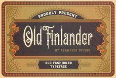 Old Finlander by Blankids Studio on @creativemarket