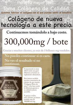 Colágeno Polvo de Nieve - Colágeno Extra Virgen en México
