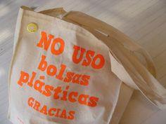 Evita las bolsas plásticas