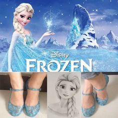 Frozen shoe design