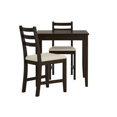 LERHAMN Table and 2 chairs - IKEA