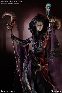 The Eater of the Dead - Cleopsis - Premium Format Figure is available at Sideshow.com for fans of Sideshow's original Court of the Dead.