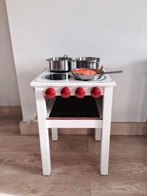 Ikea hack - kitchen stove for the kids