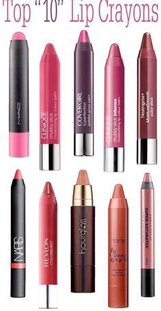 Top 10 lip crayons
