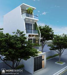 Công trình: Thiết kế nhà phố diện tích 4*20m Địa điểm: Tạ Uyên, Q.5, TP.HCM