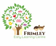 Frimley line) Early Learning Centre line) - NEW Logo for neat little childcare centre. New ownership, new start! We are an Early Learning Centre for olds based in a small closeknit community in small town New Zealand. We val. Kindergarten Logo, Preschool Logo, Creative Poster Design, Creative Logo, Best Logo Design, Custom Logo Design, Graphic Design, Daycare Logo, Education Logo Design