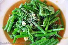อาหารไทย--ผัดยอดฟักทอง