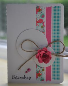 Washi tape. Or do it with scrap paper
