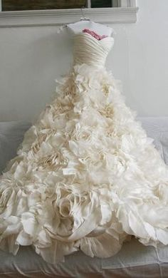 Vera Wang wedding dress.