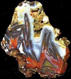 Plume Agate, Cady Mountains, Ludlow, California