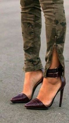 Love the shoes, especially with the camo!!!