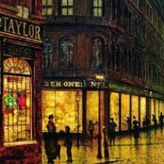 John Atkinson Grimshaw was a Yorkshire painter from Leeds. See the stunning use of light in his paintings and learn more about the artist.