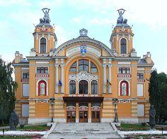 https://flic.kr/p/6YkKU7   Cluj Napoca - Klausenburg 02 Nationaltheater   Kolozsvár