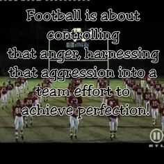 "for the closer voice over-""being a hero (legend?) is about controlling that anger, harnessing that aggression into a team effort for the purpose of something bigger"" Football Movies, Football Quotes, Flag Football, Jokes Quotes, Movie Quotes, Remember The Titans Quotes, Attitude Reflects Leadership, Motivation For Kids, Classroom Quotes"