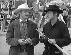 PALADIN - Richard Boone starred in this classic Western series as Paladin, a well-educated and highly principled gun for hire who preferrred to use his brains but quite often was forced to use his gun. The series ran for six seasons on CBS.