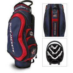 Team Golf NHL Columbus Blue Jackets Medalist Golf Cart Bag