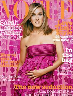 October 2003 Sarah Jessica Parker wears silk dress, £2,800, at Donna Karan. Pink tourmaline and diamond earrings, from £17, £417, at Fred Laighton, New York. All make-up by Prescriptives. Hair: Serge Normant. Make up: Genevieve. Nails: Gina Eppolito. Art Direction: Linda Keil for Oliver Piro. Production: Ruth Levy. Digital artwork: Lux Imaging. Fashion editor: Evyan Metzner. Photography: Mark Seliger