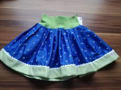 Röcke - Faltenrock, Kinder-Trachtenrock - ein Designerstück von Simone-1-2 bei DaWanda