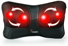 A good pillow massager should be compatible with a car charger. While a majority of them are used at home, one with a car charger can take all the benefits that a massage pillow offers, with you, everywhere.