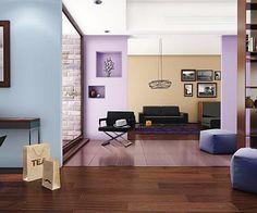 10 zestawień kolorów ścian do Twojego mieszkania.