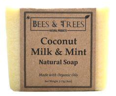 Bees & Trees - Coconut Milk & Mint Soap