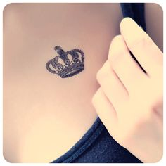 Aliexpress.com : Buy Tattoo stickers waterproof fashion black crown queen tattoo 3 from Reliable sticker cartoon suppliers on attractive women store. $2.95