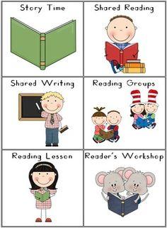 OUR CLASSROOM SCHEDULE ROUTINE CARDS - 17 PAGES - TeachersPayTeachers.com