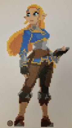 Legend of Zelda Breath of the Wild Zelda Perler by jrfromdallas.deviantart.com on @DeviantArt