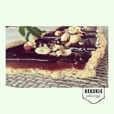 Havanette de avellanas y ganache de chocolate. #havanette #hazelnuts #chocolate #ganache #dulcedeleche #pastry #sweet