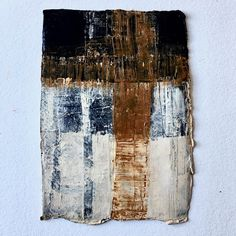 Acrylic Painting on Handmade Paper Oil Mix, Abstract Oil, Contemporary, Paper, Artwork, Handmade, Painting, Work Of Art, Hand Made