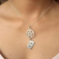 Supernatural Themed; Dean's Music and Pentacle Necklace. | eBay