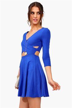 Criss Cross Dress - Royal Blue love this! Casual Dresses, Casual Outfits, Cute Outfits, Summer Dresses, Royal Ascot Ladies Day, Ms Blue, Royal Blue Dresses, Women's Fashion, Fashion Outfits