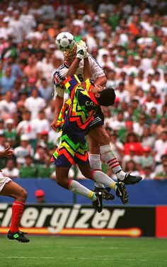 Jorge Campos  94 Football Kits 9df79fc6586