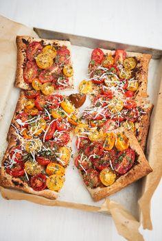 tomaten taart