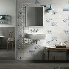 Cooperativa Ceramica Imola produces floor and wall coverings in porcelain stoneware suitable for both interior and exterior for residential and commercial Ceramic Wall Tiles, Clawfoot Bathtub, Double Vanity, Showroom, Modern Design, Flooring, Urban, Interior Design, Bathroom