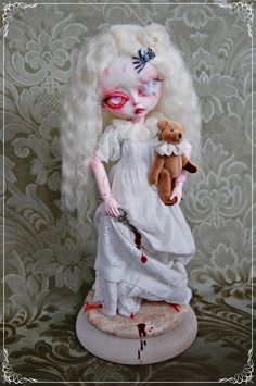 """""""Albina Death"""" by Sally's Song Dolls."""