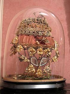 globe couronne mariée